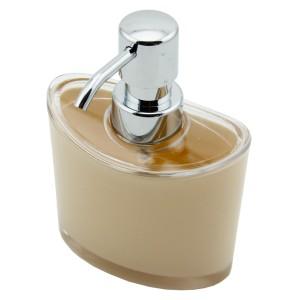 Perotti Akrilik Oval Sıvı Sabunluk Krem