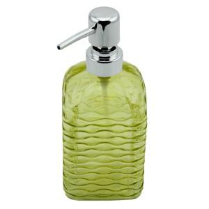 Perotti Cam Kare Sıvı Sabunluk - Sarı