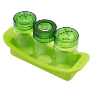 Herevin 3'lü Tuzluk & Biberlik - Yeşil