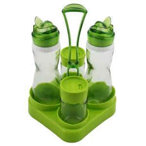Renga 4'lü Akrilik Menaj Takımı - Yeşil