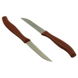 Perotti 6'lı Meyve Bıçağı - Kahverengi