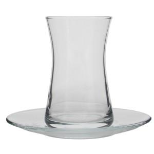 Paşabahçe Heybeli 12 Parça Çay Bardağı Takımı