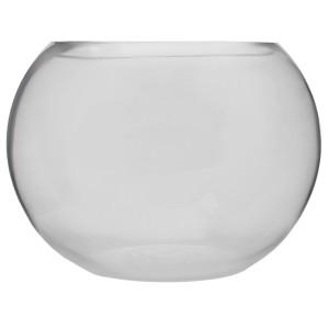 Miraç Cam Küçük Boy Küre Vazo