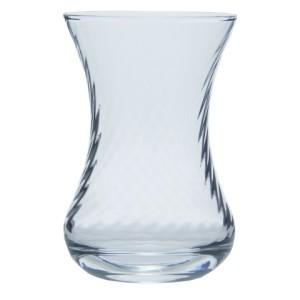 İnce Belli 6'lı Çay Bardağı Optikli