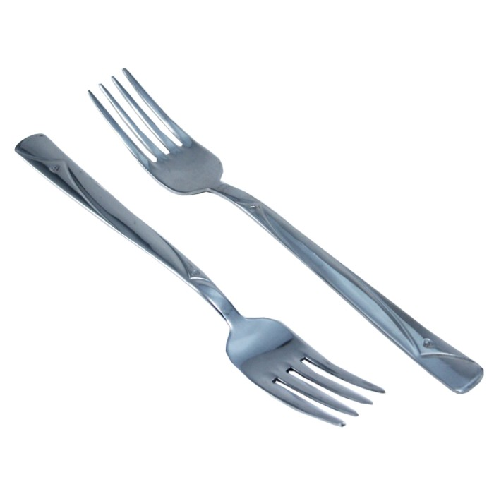 Gündoğdu 6'lı Yemek Çatalı Gül