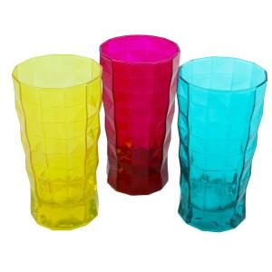 Paşabahçe Przm 3'lü Renkli Meşrubat Bardağı