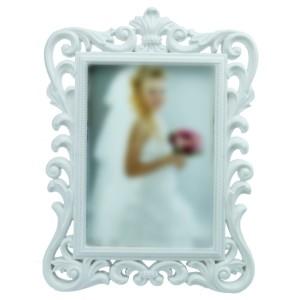 Zeon Kabartmalı Çerçeve 15x21 cm Beyaz