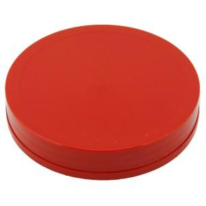Kırmızı Etekli Düz Kapak 110 mm