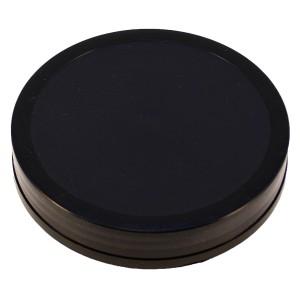 Siyah Etekli Düz Kapak 110 mm