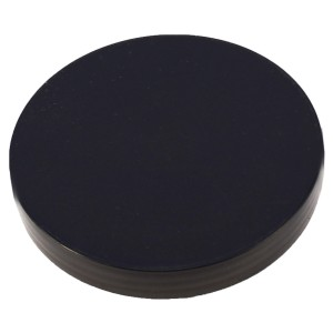Siyah Düz Kapak 110 mm