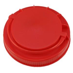 Kırmızı Kendinden Kulplu Kapak 110 mm