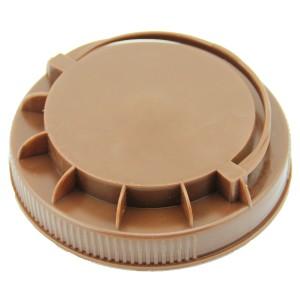 Kahverengi Kendinden Kulplu Kapak 110 mm