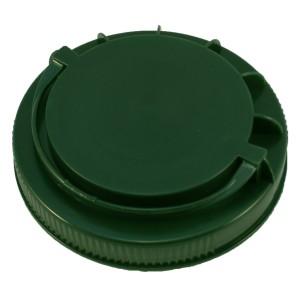 Koyu Yeşil Kendinden Kulplu Kapak 110 mm