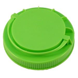 Fıstık Yeşili Kendinden Kulplu Kapak 110 mm