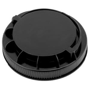 Siyah Kendinden Kulplu Kapak 110 mm
