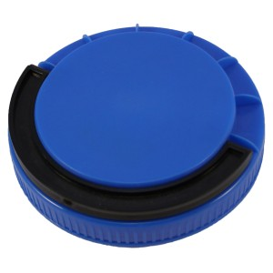 Mavi Contasız Elcikli Kapak 110 mm
