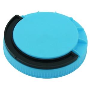Açık Mavi Contasız Elcikli Kapak 110 mm