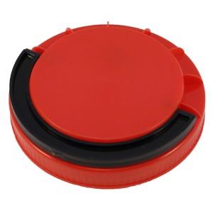Kırmızı Contasız Elcikli Kapak 110 mm