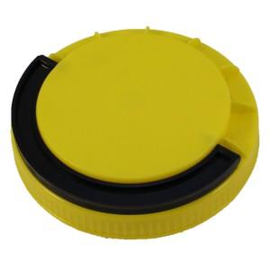 Sarı Contasız Elcikli Kapak 110 mm