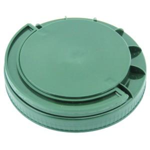 Koyu Yeşil Contasız Elcikli Kapak 110 mm