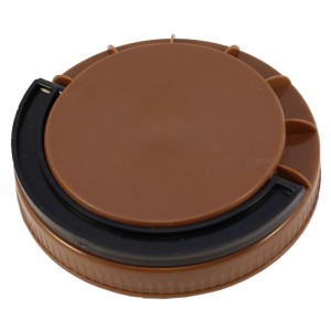 Kahverengi Contasız Elcikli Kapak 110 mm