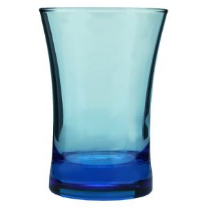 Azur 3'lü Kahve Yanı Su Bardağı Mavi