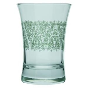 Crochet 3'lü Desenli Su Bardağı
