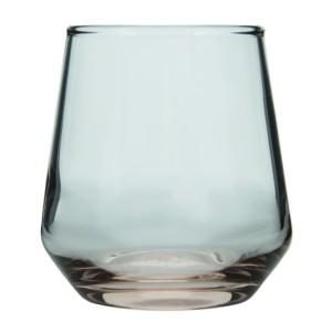 Allegra 6'lı Kahve Yanı Su Bardağı Pembe