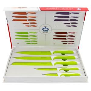 Pakiş 5'li Bıçak Seti Yeşil