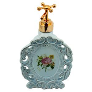 Miraç Seramik Sıvı Sabunluk Mavi Oval